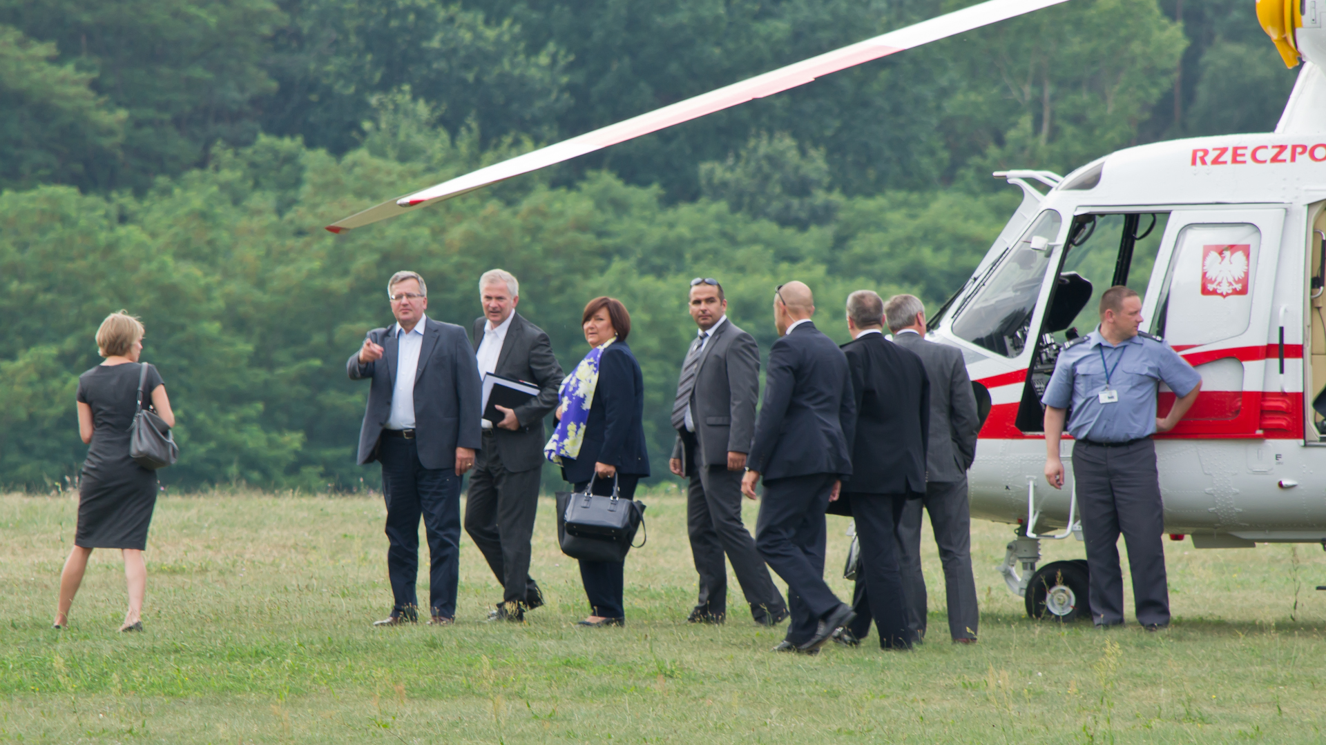 Prezydent RP w Lisich Kątach