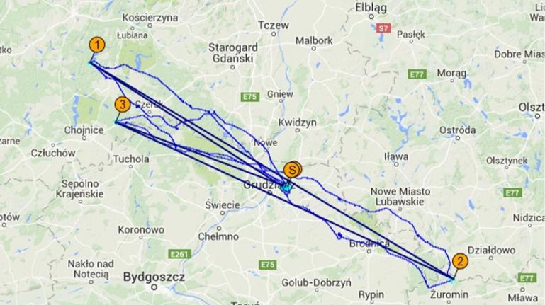 Relacja Janusza Łangowskiego ze środowego spaceru na 500km