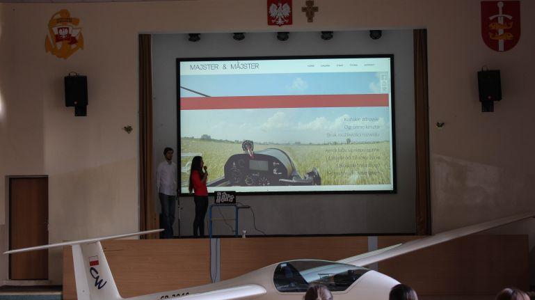 Prezentacja o szybownictwie tym razem w Słupsku i Gdyni!